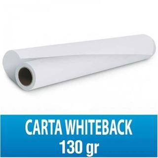Immagine di White Back 130gr 137,2cmx61M