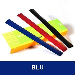 Immagine di Lx Composition Strip medium A4 (100 pzi) - da 126 a 250 fogli da 80gr - blu