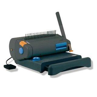 Immagine di OPERA 35S - perforatrice elettrica e rilegatrice manuale a dorsi plastici - prof