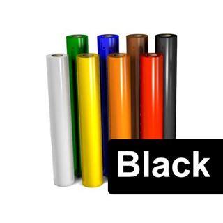 Immagine di VINILE ADESIVO AVERY 700 POLIMERICO 701 BLACK GLOSS CM61.5X50M
