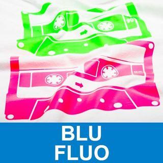 Immagine di B-Flex Fluo 50cmx25M 90my Blu Fluo