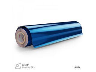 Immagine di PET specchio azzurro metallizzato 50mic 125x24