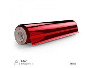 Immagine di PET specchio rosso metallizzato 50mic 125x24