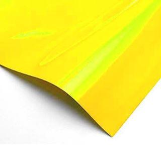 Immagine di Pvc polimerico giallo fluo 80mic 125x25