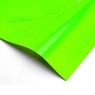 Immagine di Pvc polimerico verde fluo 80mic 125x25