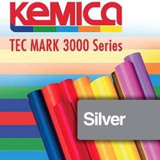 Immagine di TEC MARK 3008 Silver Gloss 70mic cm.122x50m