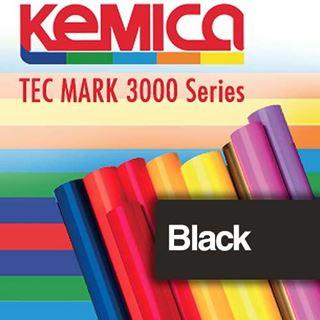 Immagine di TEC MARK 3101 Black Matt 70mic cm.122x50m