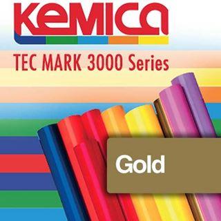 Immagine di TEC MARK 3102 Gold Matt 70mic cm.122x50m