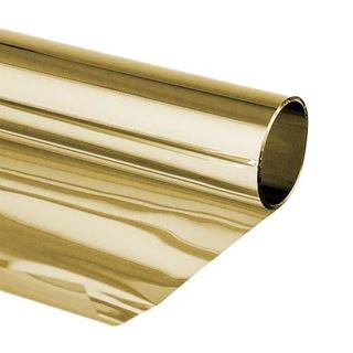 Immagine di PVC specchio gold 80mic 100x50