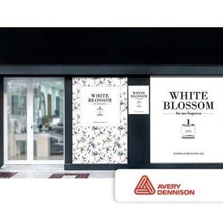 Immagine di Vinile Avery 3000 HOP Adesivo Bianco Gloss perm. 95my