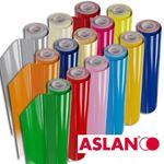 Immagine di Vinile polimerico da intaglio adesivo solvent 70my (vari colori - da 10/25/50Mt)