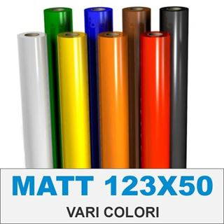 Immagine di VINILE AVERY MATT 70my permanente altezza cm123 (vari colori)