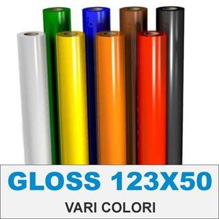Immagine di VINILE AVERY GLOSS 70my permanente altezza cm123 (vari colori)