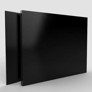 Immagine di Alluminio Composito Nero-Nero Gloss/Gloss 0,21 - 3mm - 305x150cm